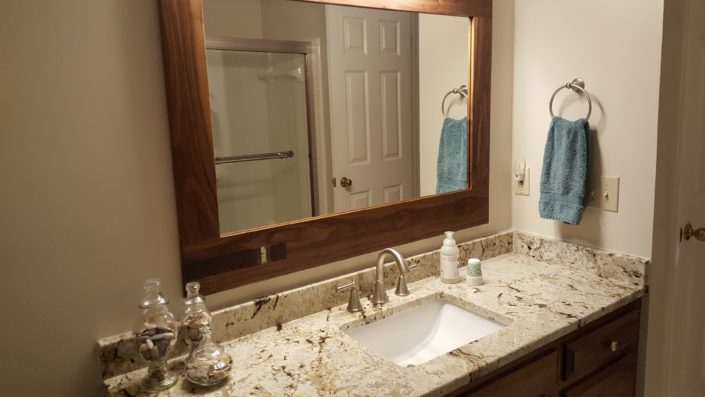 Walnut Vanity Mirror